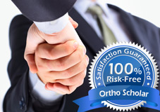 Risk-Free Guarantee Handshake and Seal - Ortho Scholar